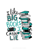 Big Books - Katie Abey Cartoon Print