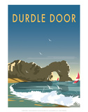 Durdle Door - Dave Thompson Contemporary Travel Print