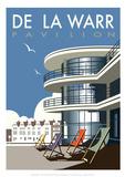 De La Warr Pavilion - Dave Thompson Contemporary Travel Print
