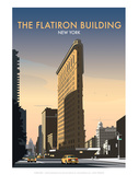 FlatIron Building - Dave Thompson Contemporary Travel Print