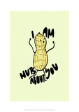 Nuts About You - Tom Cronin Doodles Cartoon Print