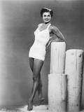 American Actress Esther Williams Wearing a Bath Suit C 1954
