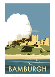 Bamburgh - Dave Thompson Contemporary Travel Print