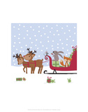 Sleighride - Wink Designs Contemporary Print