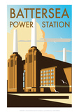 Battersea Power Station - Dave Thompson Contemporary Travel Print
