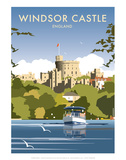 Windsor Castle - England - Dave Thompson Contemporary Travel Print