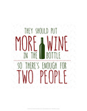 More Wine - Wink Designs Contemporary Print