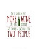 More Wine - Wink Designs Contemporary Print