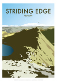 Helvellyn Edge  Lake District - Dave Thompson Contemporary Travel Print