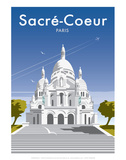 Sacre Coure - Dave Thompson Contemporary Travel Print