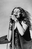 Singer Janis Joplin (1943-1970) in Concert in 1968