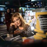 Singer Dalida in a Bookshop  C 1968