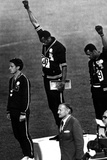 Winners of the Men's 200 Metres on the Podium  1968 Olympic Games  Mexico City