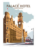 Manchester Palace Hotel - Dave Thompson Contemporary Travel Print