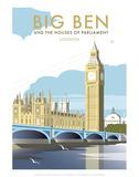 Big Ben - Dave Thompson Contemporary Travel Print