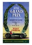 Grand Prix - Silverstone Vintage Print