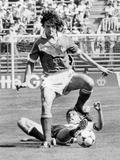 Football World Cup 1982 in Spain : France Team Vs Austria Team  June 28  1982