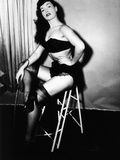 Bettie Page  American Model and Pin Up  C 1955