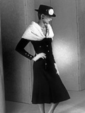 Chanel Fashion : Autumn-Winter 1983 : Model Ines De La Fressange