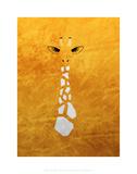 Giraffe - Jethro Wilson Contemporary Wildlife Print