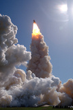 The Space Shuttle Columbia and Her Crew of Six Lifted Off from Pad 39B at 1:09 PM