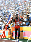 Olympic Games in Los Angeles  1984 : 100M : Carl Lewis Winner