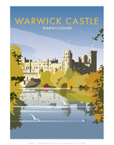 Warwick Castle - Dave Thompson Contemporary Travel Print