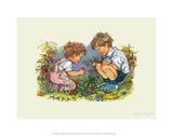 Garden - Alfie Illustrated Print