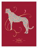 Cheetah - WWF Contemporary Animals and Wildlife Print