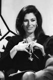 "Elizabeth Tessier (Astrologist) During the Programm E""Dix De Der""  7 May 1976"