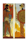 The Odyssey by Homere : the Gods Poseidon and Athena  1930-1933