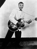 Aaron Thibeaux Walker Dit T-Bone Walker (1910-1975) Blues Guitarist  40'S