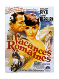 Vacances Romaines Roman Holiday De Williamwyler Avec Audrey Hepburn Et Gregory Peck 1953