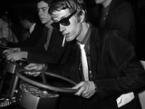 French Singer Jacques Dutronc in Miniland  Paris  17 March 1967