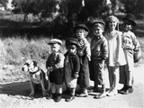 Serie Televisee Les Petites Canailles the Little Rascals  1933