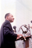 Martin Luther King  American Priest Activist for Civil Right Movement Black Americans Here C 1965