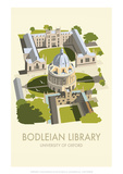 Bodelein Library Exterior - Dave Thompson Contemporary Travel Print