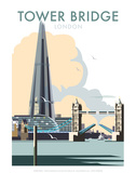 Tower Bridge - Dave Thompson Contemporary Travel Print