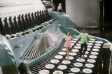 Couple Dancing on the Key of a Giant Typewriter  Keys are Leg of Dancers  Musical