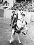 Conchita Cintron (1922-2009) Aka La Diosa Rubia  Peruvian Matador  Here in Madrid  1962