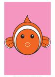 Fish - Animaru Cartoon Animal Print