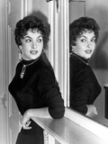 Actress Gina Lollobrigida October 31  1955