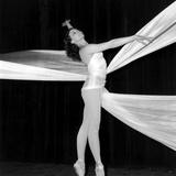 "Dancer Muriel Belmondo on Stage for the Ballet ""Balletti""  Paris  23 May 1967"