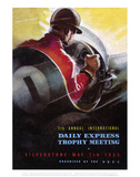 7th International Trophy Meeting - Silverstone Vintage Print