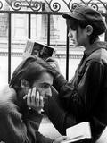 La Chinoise De Jeanlucgodard Avec Jean Pierre Leaud  Anne Wiazemsky  1967