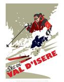 Val D'Isere - Dave Thompson Contemporary Travel Print