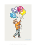 Balloons - Alfie Illustrated Print