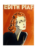 Edith Piaf (1915-1963) French Singer  C 1930