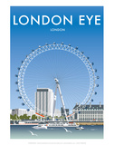 London Eye - Dave Thompson Contemporary Travel Print