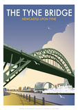 Tyne Bridge - Dave Thompson Contemporary Travel Print